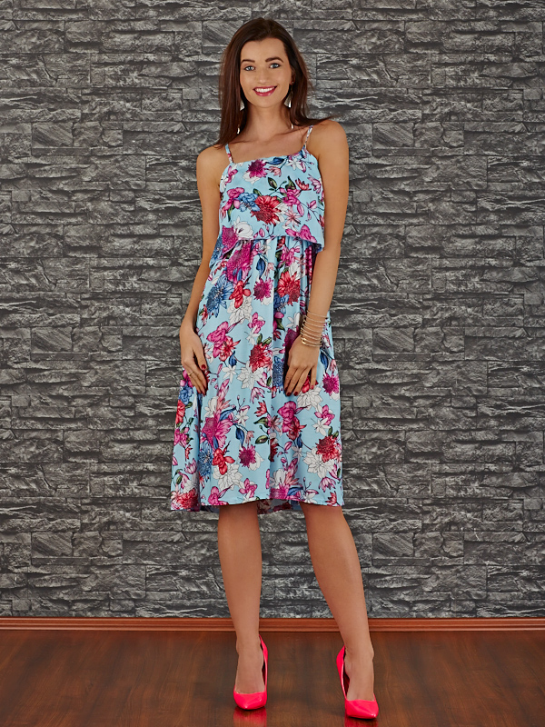 V11488-3 Платье